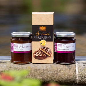 Jam duo and biscuit gift set