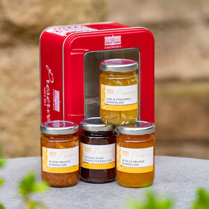 Mini marmalade tasting selection