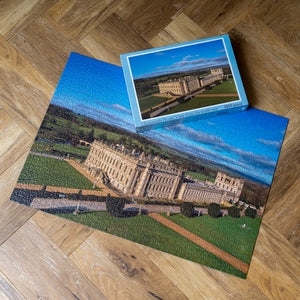 Chatsworth from the air 1000 piece jigsaw