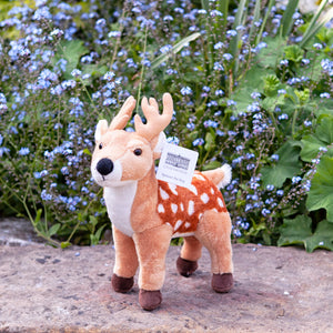 Spencer the stag soft toy