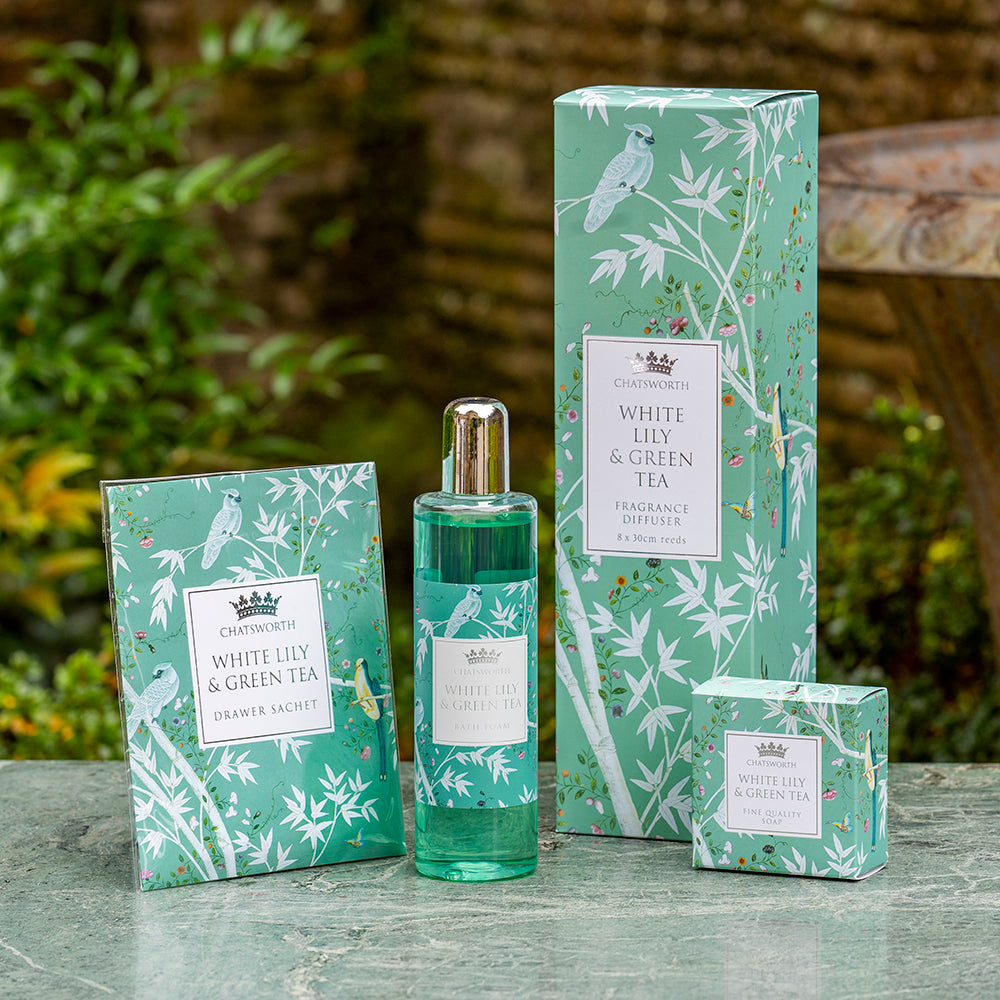 White lily and green tea fragrance gift set