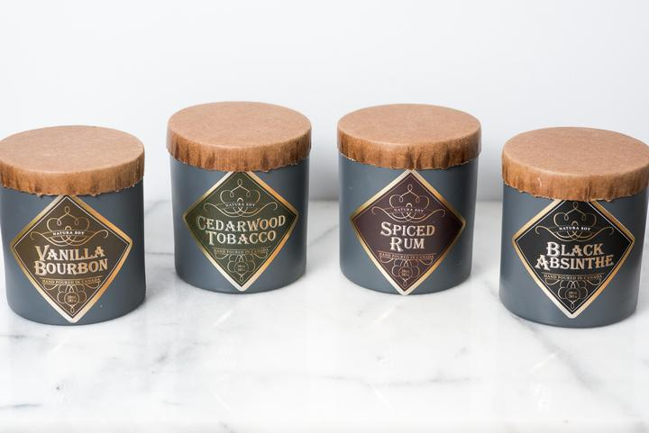 Natura soy Wood Wick Candles
