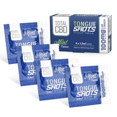 CBD Mint Tongue Shots