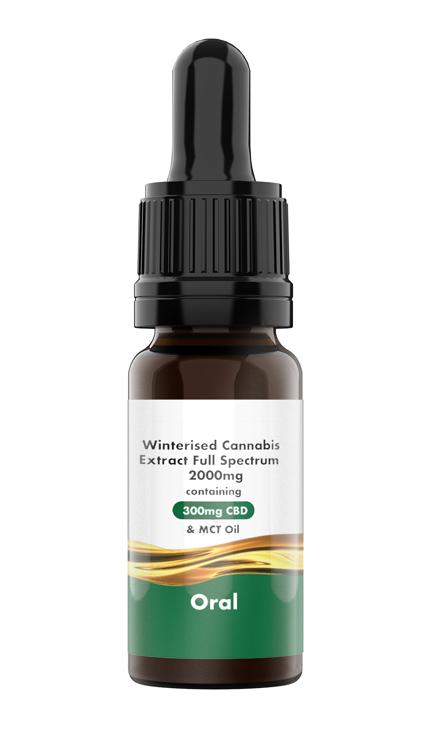 LVWell CBD Winterised in MCT (Oral) Full Spectrum 2000mg Full Spectrum