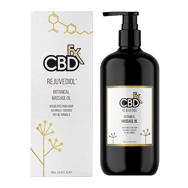 CBD FX - Rejuvediol Full Spectrum CBD Massage Oil