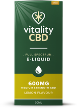 Load image into Gallery viewer, Vitality - Full Spectrum CBD Eliquid