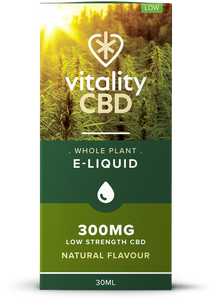 Vitality - Whole Plant CBD Eliquid