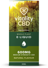 Load image into Gallery viewer, Vitality - Whole Plant CBD Eliquid