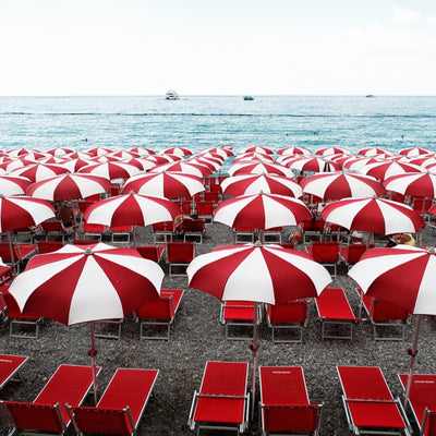 Amalfi Umbrellas by Stuart Cantor
