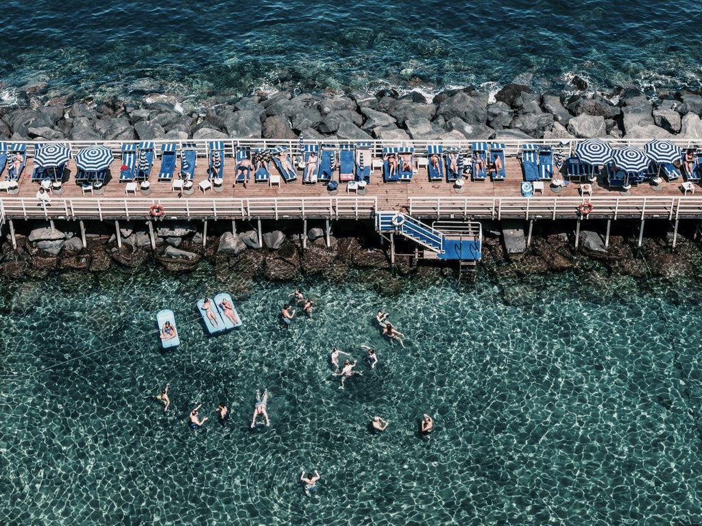 Sorrento Summer Days by Stuart Cantor