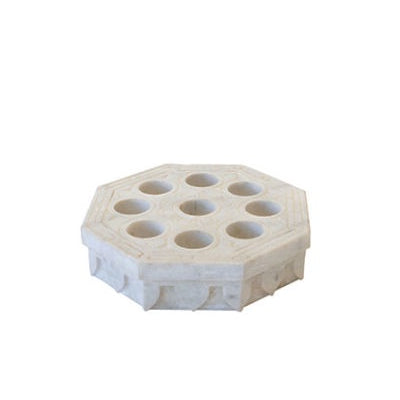 Octagonal Marble Candle Holder