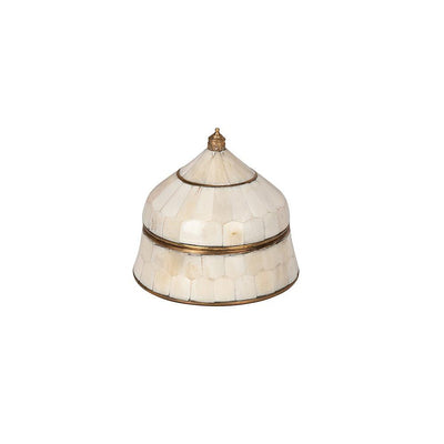 Frey Trinket Box - Small White