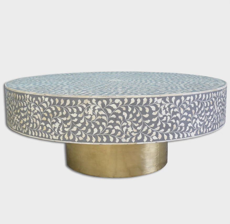 Inlay Coffee Table - Floral