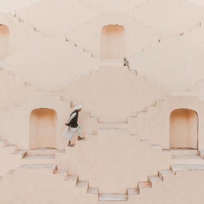 'The Step Well' Photo Art by Giovanna Aryafara