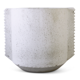 Azteca Planter White - Triangle