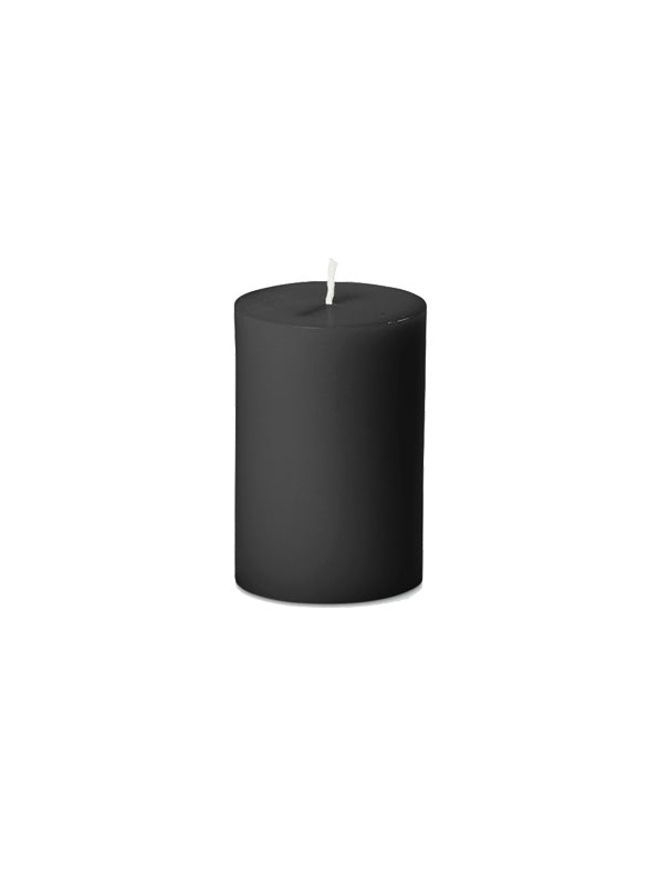 Coloured Pillar Candle - 7.5cm