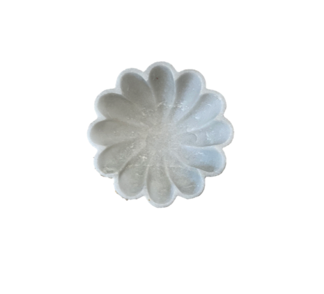 Marble Camelia Dish