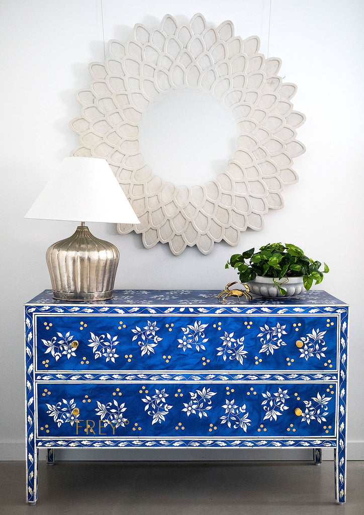 Shambhavi Inlay Chest of Drawers