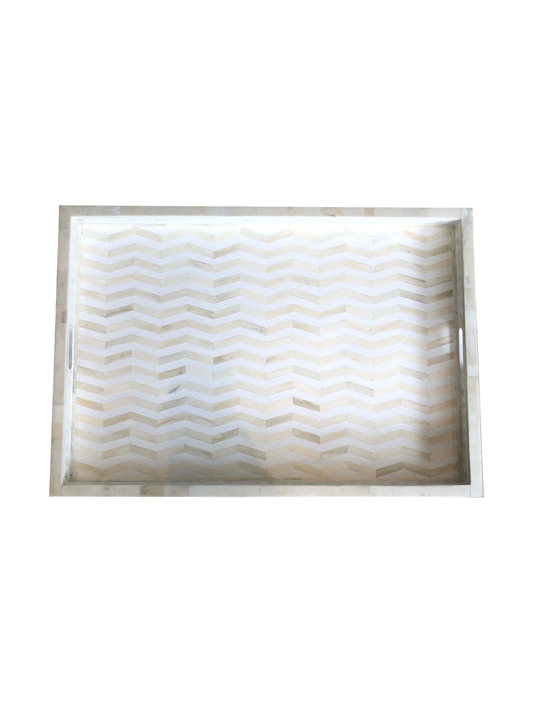 Inlay Tray - Large Chevron