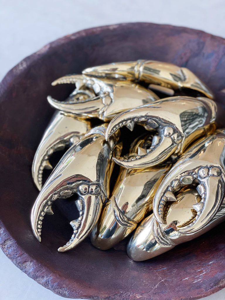 Brass Crab Claw Bottle Opener
