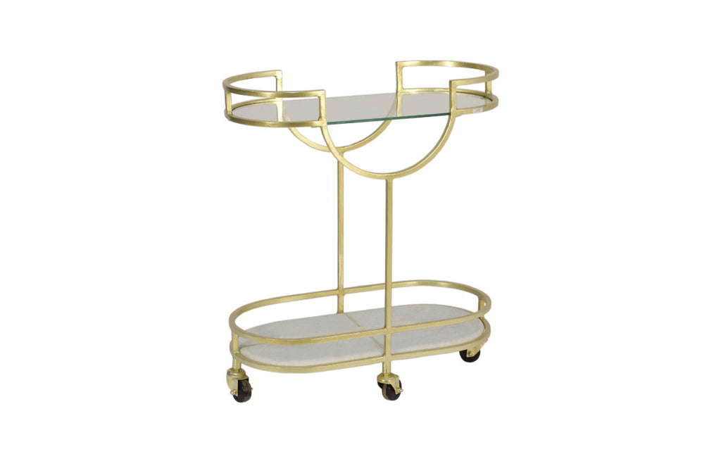 Art Deco Bar Cart from India