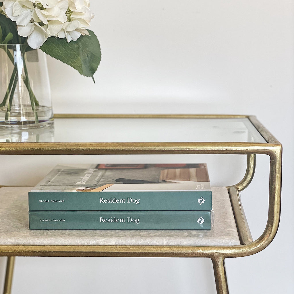 Marble and Brass Bedsides