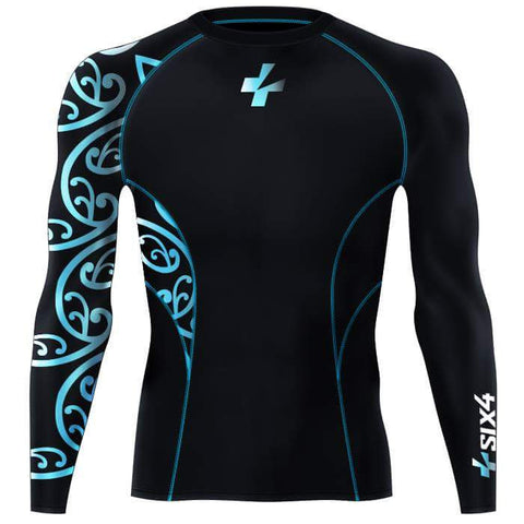 Blue Awa Baselayer LS Shirt