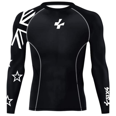 NZ Flag Performance Baselayer Shirt
