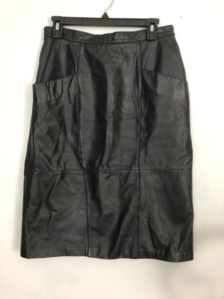 Vintage Jacqueline Ferrar Leather Skirt