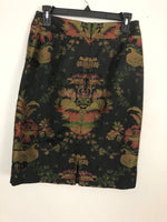 Cabi Pencil Jacquard Skirt 6