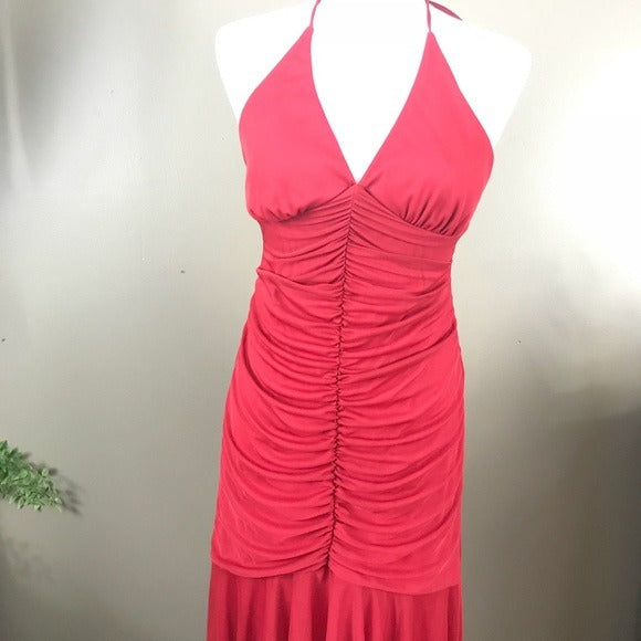 Red Evening Dress M
