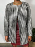 Ann Taylor Loft Checkered Coat