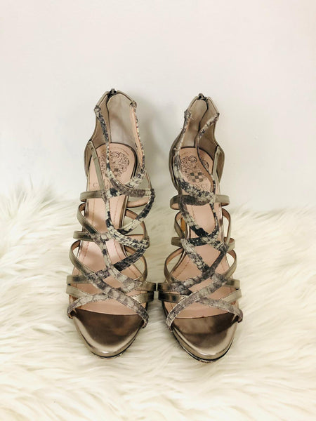 Vince Camuto Strappy Heels 6.5