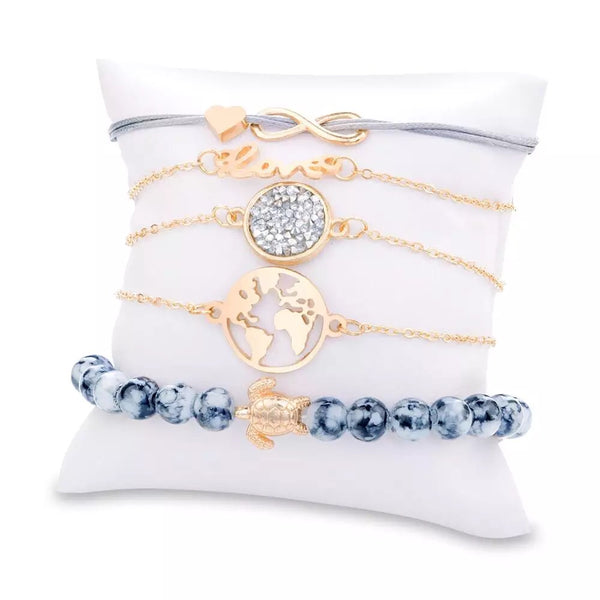 World Love Bracelet Set