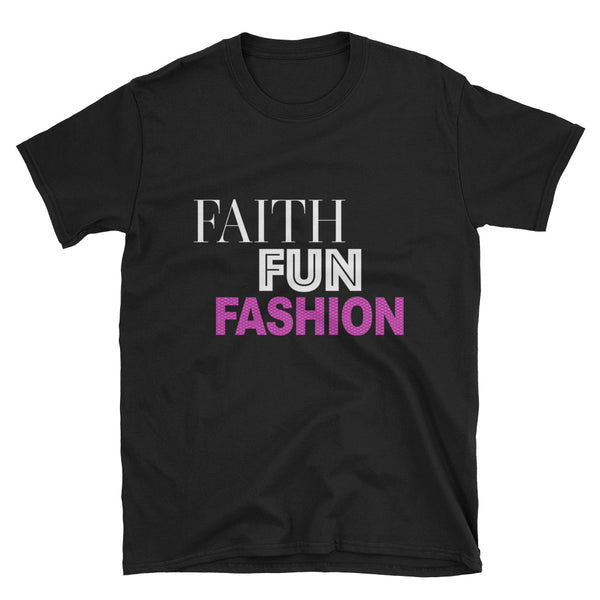 Faith Fun Fashion T-Shirt - Pink