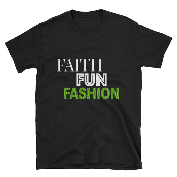 Faith Fun Fashion T-Shirt - Lime