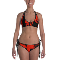 Motherland Bikini - Red/Black