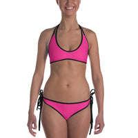 Reversible Bikini - Pour on the Love/Pink
