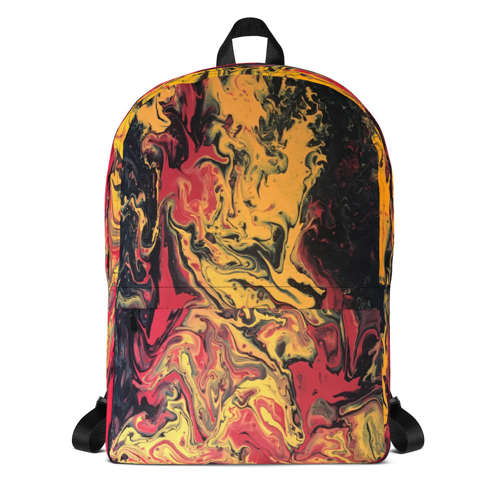 Lava Fire Backpack