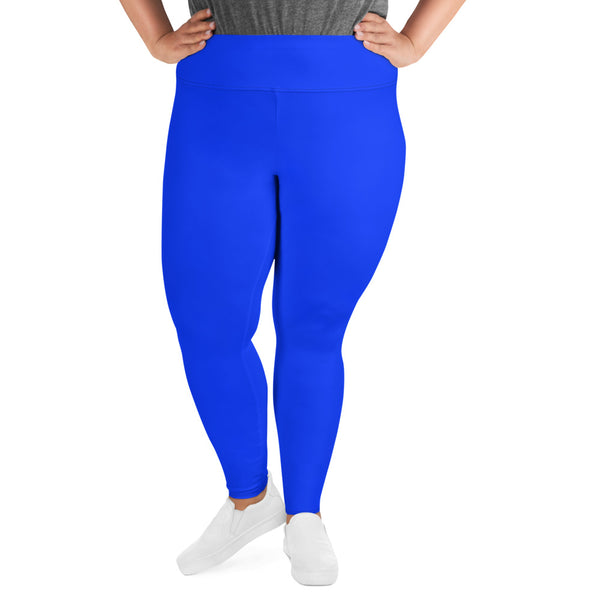 Curvy Babe Leggings - Belle Blue