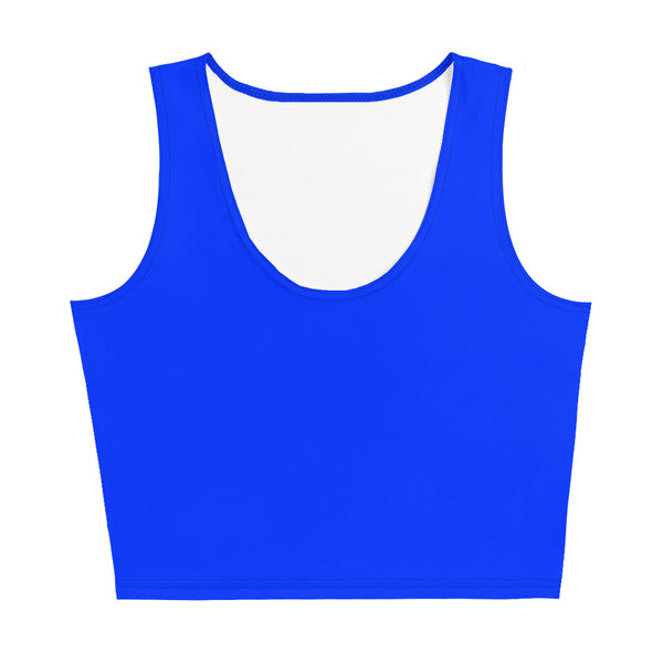 Crop Top - Belle Blue