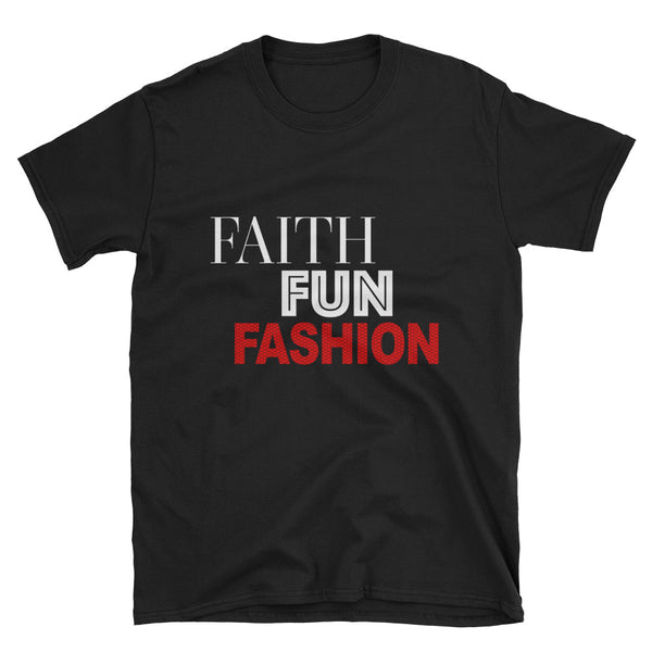 Faith Fun Fashion T-Shirt - Red