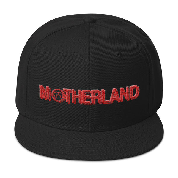 Motherland Snapback - Black/Red