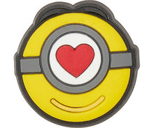 Load image into Gallery viewer, Minions Stuart Love Icon Jibbitz