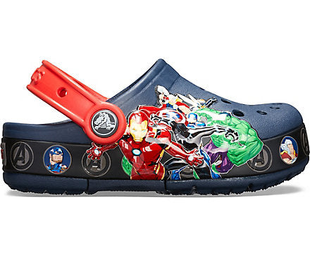 Kids' Crocs Fun Lab Marvel Band Light Clog