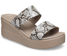 Load image into Gallery viewer, Crocs Brooklyn Mid Wedge W