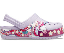 Load image into Gallery viewer, Crocs Fun Lab Unicorn Band Clog K