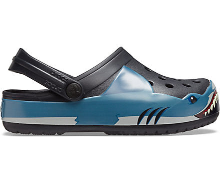 Crocs Fun Lab Shark Band Clog K