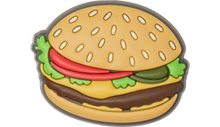 Load image into Gallery viewer, Burger Jibbitz