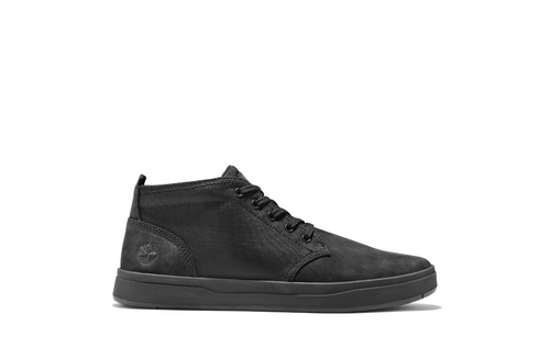 Davis Square Leather/Fabric Chukka